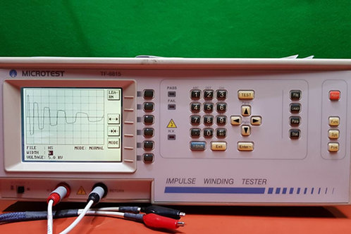 Microtest TF-6815 Impulse Winding Tester