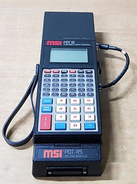 MSI PDT III Portable Data Terminal