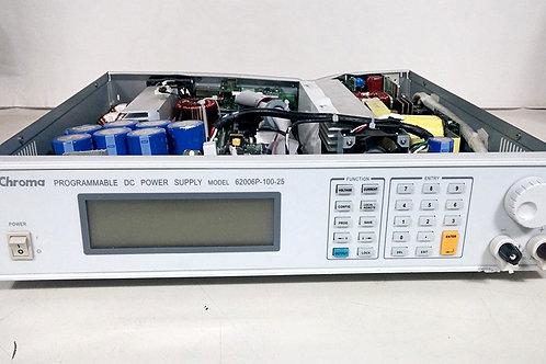 Chroma 62006P-100-25 Programmable DC Power Supply
