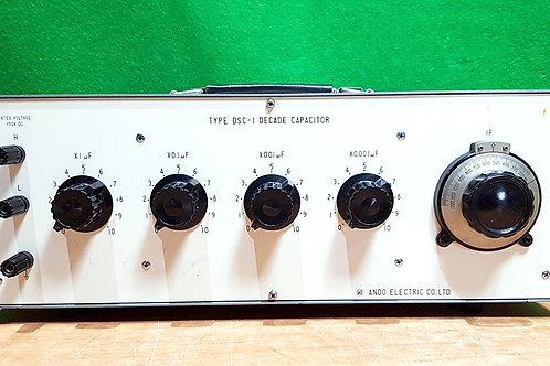 Ando DSC-1 Decade Capacitor