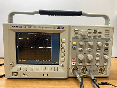 Tektronix TDS3012C Digital Phosphor Oscilloscope