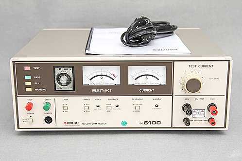 Kikusui TOS6100 AC Low Ohm Tester
