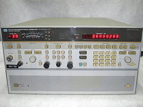 HP 8573D Synthesized Signal Generator
