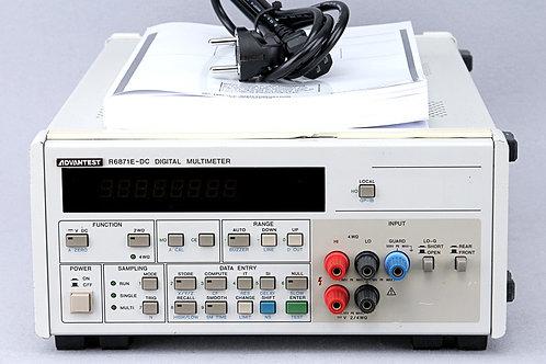 Advantest R6871E-DC Digital Multimeter