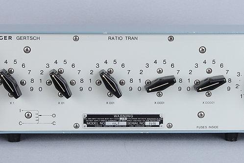 Gertsch RT-7 Ratio Transformer/ AC Voltage Divider