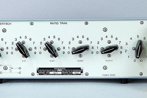Singer Gertsch RatioTran RT-7 Standard Ratio Transformer