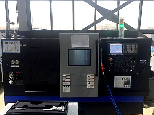 Hwacheon Hi-Tech 200A Horizontal Lathe