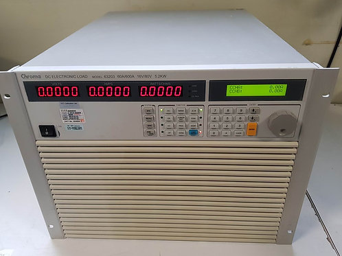 Chroma 63203 80V 600A 5.2KW DC Electronic Load