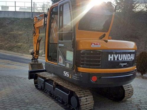 Hyundai R55i Excavator