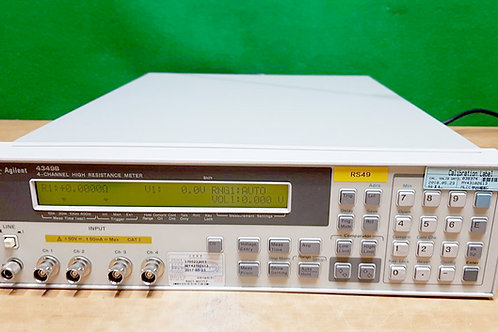 Agilent 4349B High Resistance Meter