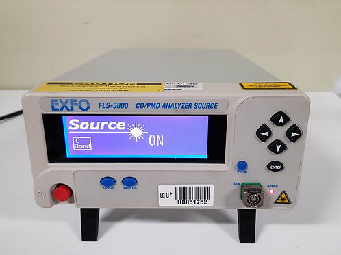 EXFO FLS-5800 CD PMD Analyzer Source FLS-5834