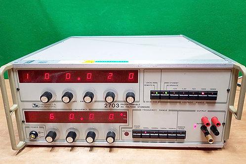 Valhalla Scientific 2703 Programmable AC Voltage Standard