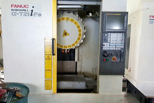 Fanuc Robodrill α-T21iFe Drilling & Tapping Center