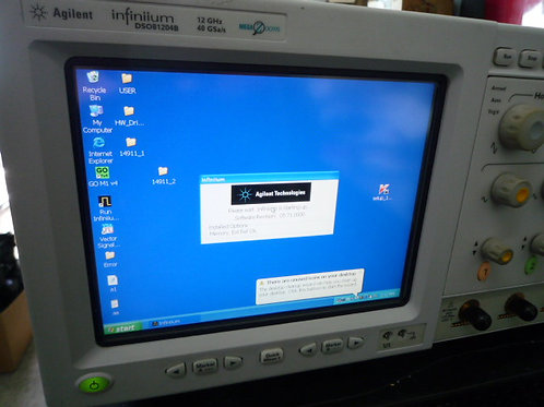 Agilent infiniium DSO81204B Oscilloscope 12Ghz 40 Gs
