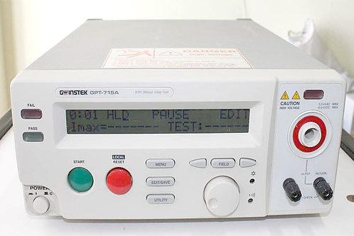 GW Instek GPT-715A AC/DC Withstand Voltage Tester