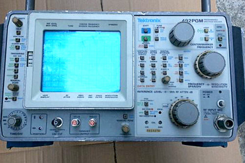Tektronix 492PGM Programmable Spectrum Analyzer