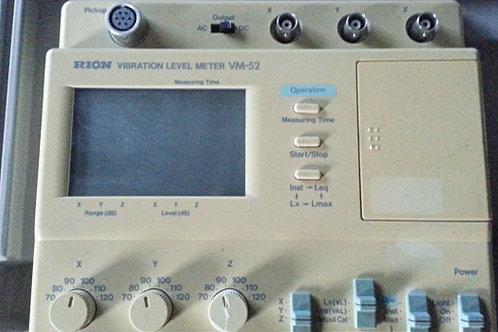 Rion VM-52 Vibration Level Meter