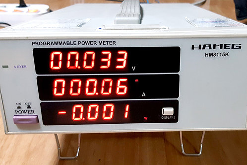 Hameg HM8115K Programmable Power Meter