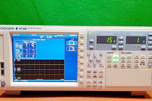 Yokogawa WT1800 Precision Power Analyzer