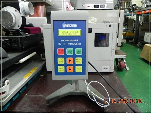 Brookfield programmable digital viscometer DV-II PLUS