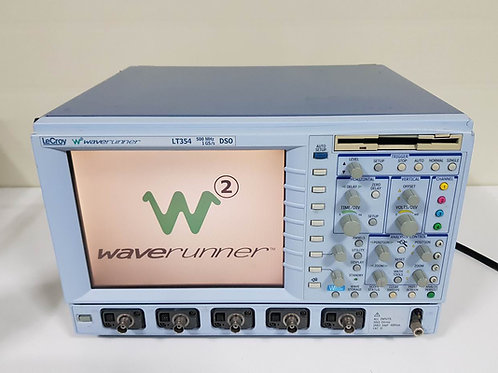 Lecroy Waverunner LT354 500Mhz DSO 4CH Oscilloscopes