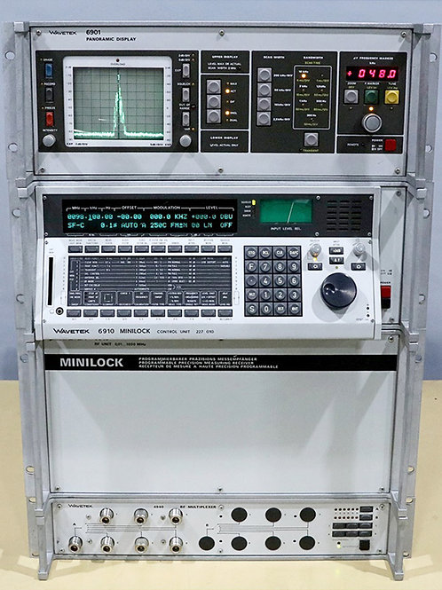 Wavetek 6910 Minilock Programmable Precision Measurement Set