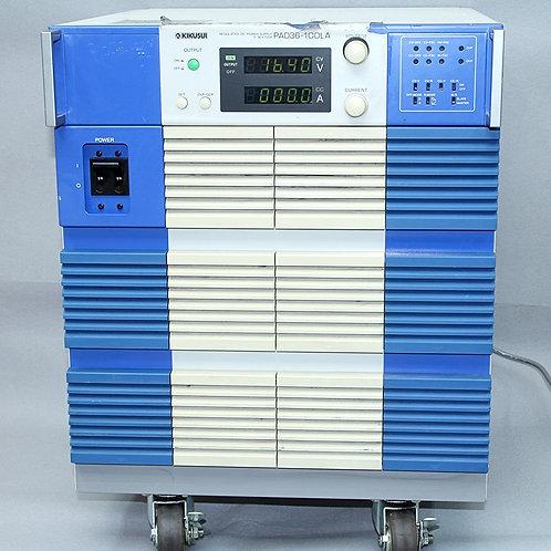 Kikusui PAD36-100LA Regulated DC Power Supply