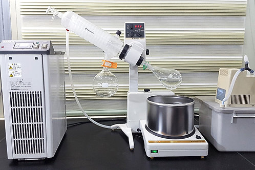 Eyela Circulator, Heidolph Rotary Evaporator and Iwaki Aspirator Set