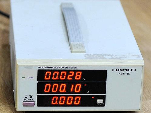 Hameg HM8115K Programmable Power Meter
