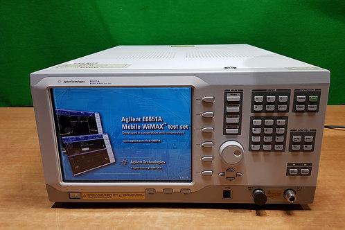 Agilent E6651A 6Ghz mobile WiMAX test set option 506 6M1