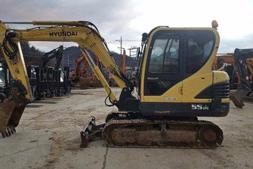 Hyundai R55 Excavator