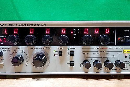 Yokogawa 2558 AC Voltage Current Standard