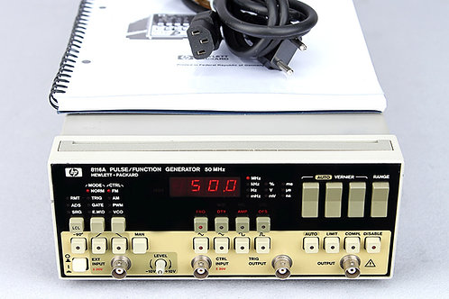 HP 8116A Pulse/Function Generator