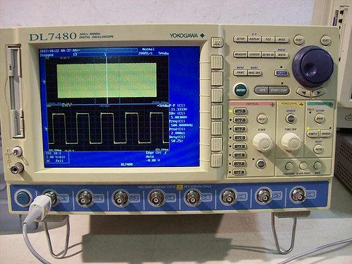 Yokogawa DL7480 8CH 16MW 500MHz