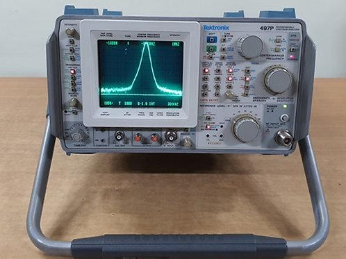 Tektronix 497P 100 kHz to 7.1 GHz Spectrum Analyzer