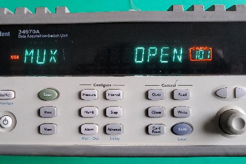 Agilent 34970A Data Acquisition Switch Unit, 34901A 20 ch Multiplexer