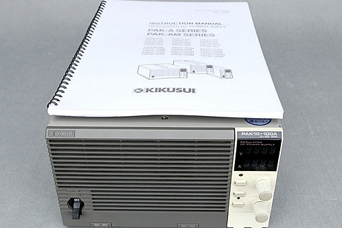 Kikusui PAK10-100A DC Power Supply