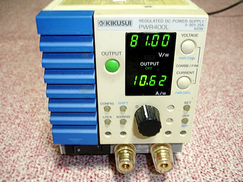 Kikusui PWR400L Regulated DC Power Supply
