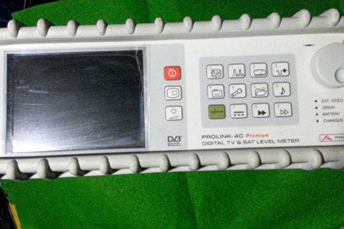 ProMax Prolink-4C Premium Digital TV & Sat Level Meter