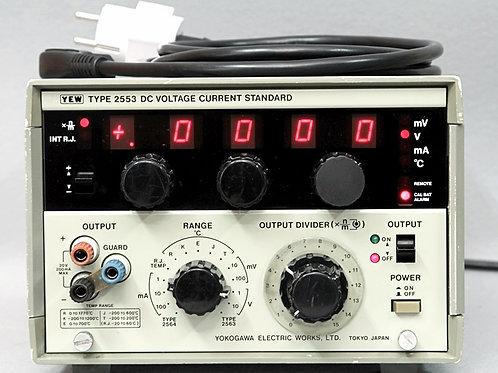 Yokogawa 2553 DC Voltage Current Standard