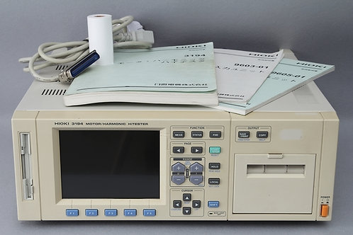 HIOKI 3194 Motor Harmonic Tester