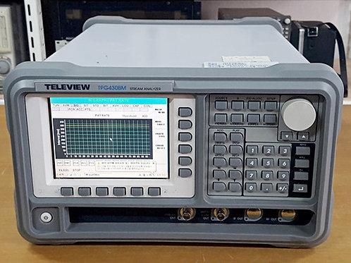 Teleview TPG430BM Stream Analyzer
