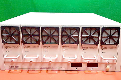 Chroma 62015B-6-1 DC Power Supply Mainframe