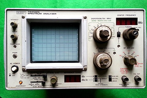 Takeda Riken TR4132N Spectrum Analyzer