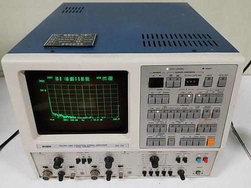 Rion SA-73 Sound Vibration Signal Analyzer