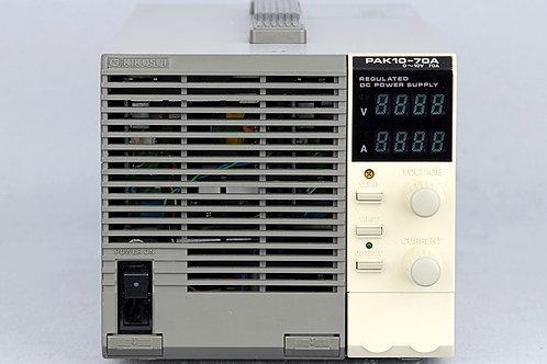 Kikusui PAK10-70A Regulated DC Power Supply