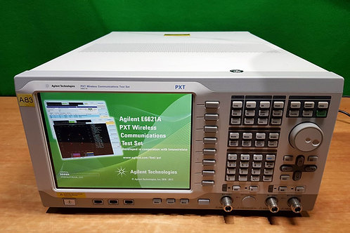 Agilent E6621A 6Ghz PXT Wireless Communications Test Set opt 2D2, 506, BB1