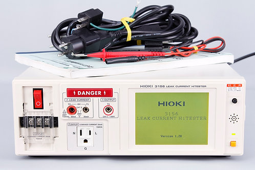 Hioki 3156 Leak Current HiTester