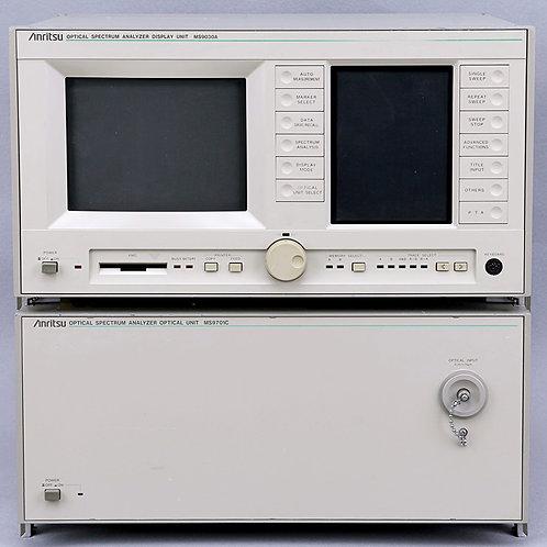 Anritsu MS9030A & MS9701C Optical Spectrum Analyzers