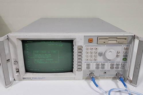 HP Agilent 8714ET 3GHz Network Analyzer 75 Ohm